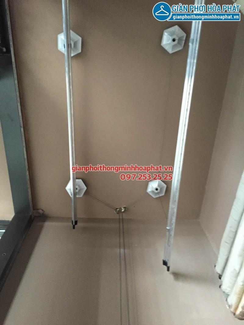 Sửa giàn phơi thông minh nhà chị Loan B4.T13 tòa nhà Dolphin Hà Nội