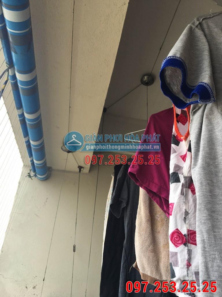 Sửa thay dây cáp giàn phơi Hòa Phát