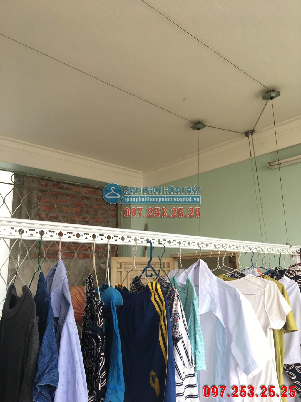 Sửa thay dây cáp giàn phơi nhà anh Khiêm số 15 ngõ 166 phố Kim Mã 01