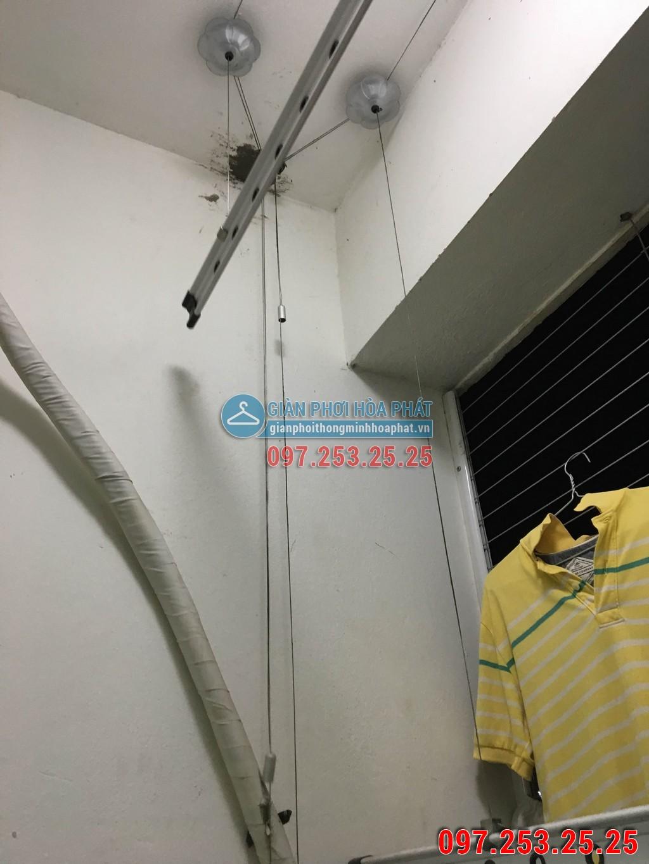 Thay dây cáp giàn phơi thông minh nhà anh Lượng P906 E3B Ecohome 01