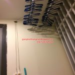 Lắp giàn phơi thông minh tại chung cư VP4 Linh Đàm
