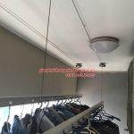 Lắp đặt giàn phơi thông minh cho nhà chung cư tại Hải Phòng