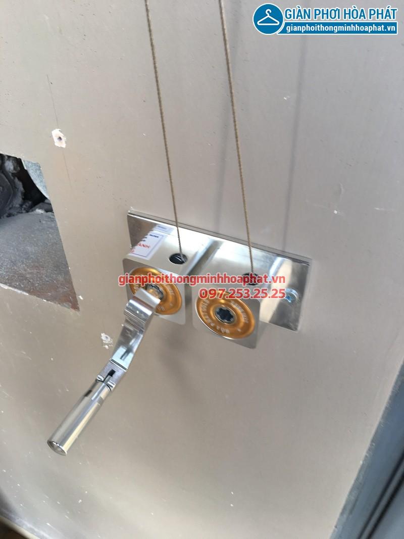 Lắp giàn phơi thông minh nhà anh Minh, P908, tòa HH1, chung cư 102 Trường Chinh 01