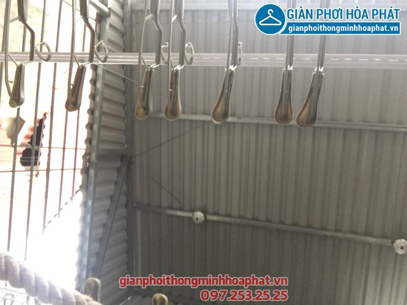 Lắp giàn phơi thông minh nhà chị Huế số 26, ngõ 55, Nguyễn Ngọc Nại, Thanh Xuân