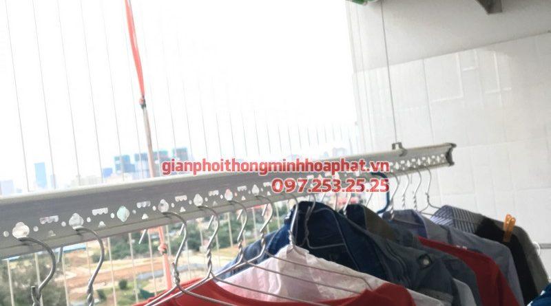 Lắp giàn phơi thông minh phòng 1210, CT12A Kim Văn Kim Lũ