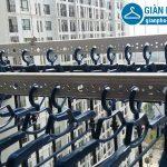 Lắp giàn phơi thông minh và lưới an toàn ban công cho nhà anh Đức tại chung cư Park Hill