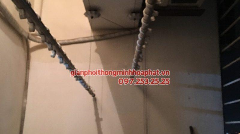 Sửa giàn phơi thông minh P1107, chung cư 46, ngõ 230, Lạc Trung, Hai Bà Trưng