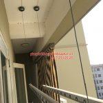 Sửa giàn phơi thông minh P603, chung cư Sunrise 3 Phúc Đồng, Long Biên