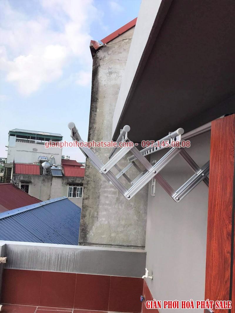 giàn phơi gắn tường Hàn Quốc được sản xuất từ hợp kim nhôm bền bỉ