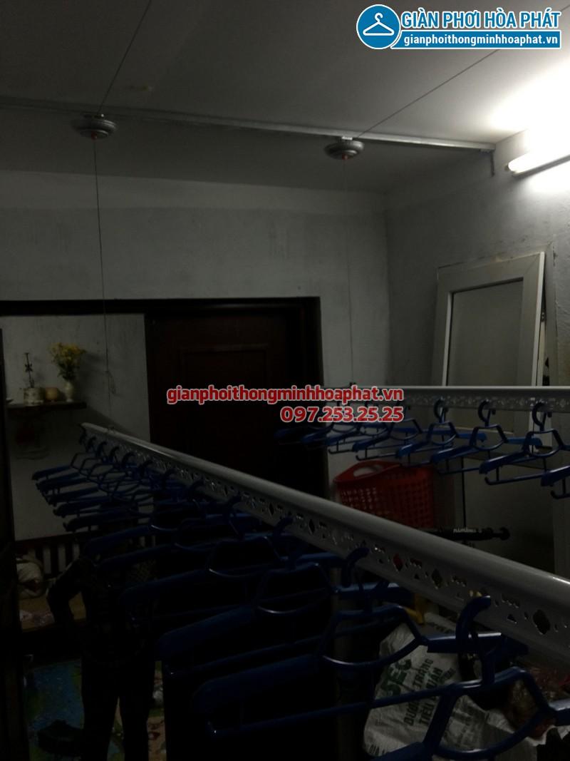 Lắp giàn phơi thông minh cho nhà anh Chiến tại ngõ 34, Xuân La, Tây Hồ 05