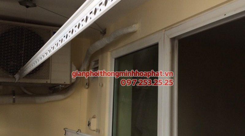 Lắp giàn phơi thông minh cho nhà chị Bình tại 43 Trung Kính, Trung Hòa, Cầu Giấy