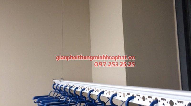 Lắp giàn phơi thông minh cho nhà anh Duy CT1, tòa the Price Lê Văn Lương