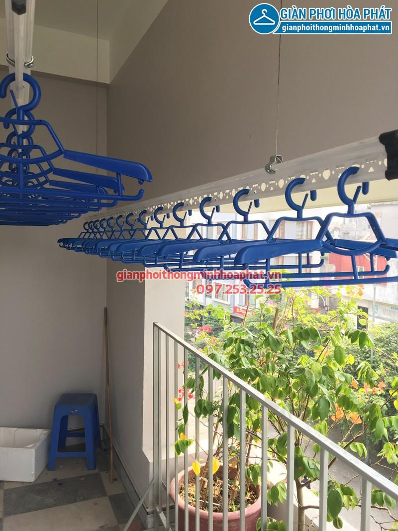 Lắp giàn phơi thông minh nhà anh Nam ngõ 192 Thanh Am, phố Đặng Vũ Hỷ, Long Biên