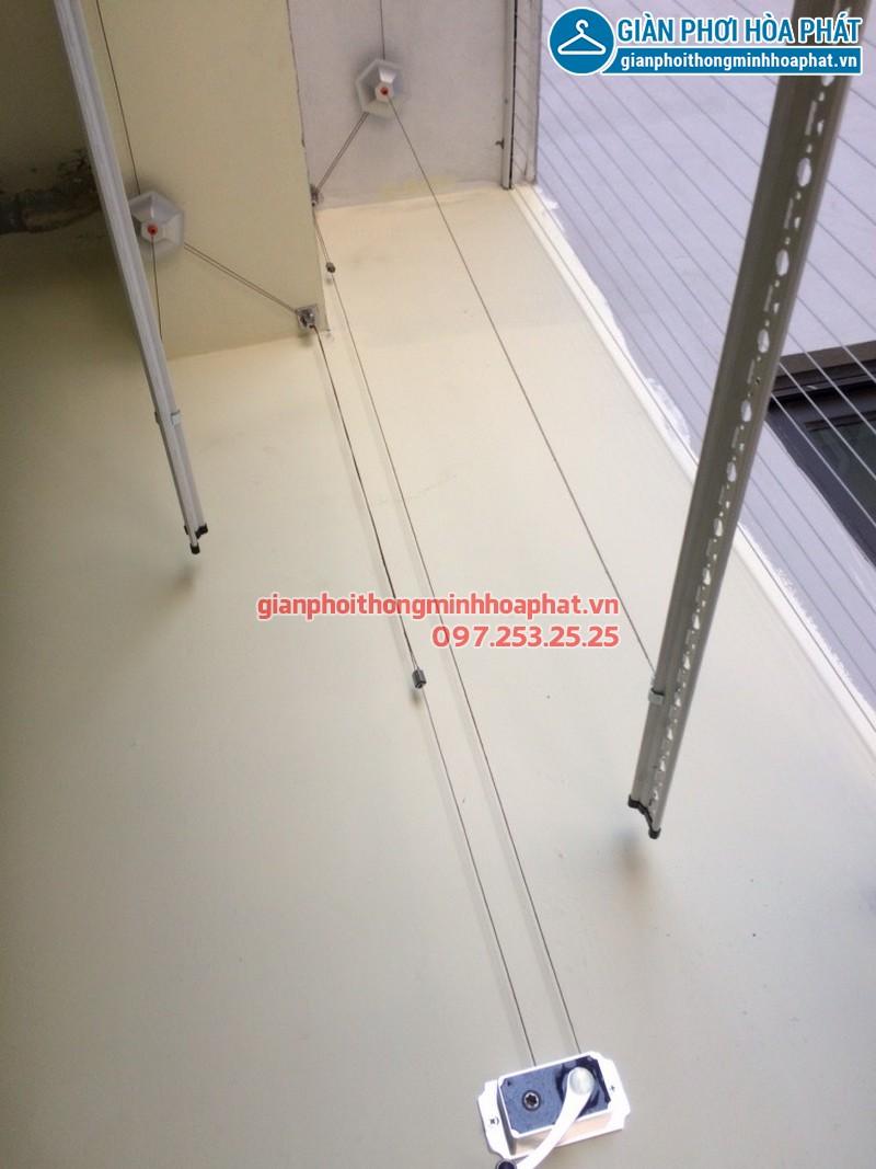 Lắp giàn phơi thông minh cho nhà anh Tài chung cư 103 Văn Quán, Hà Đông