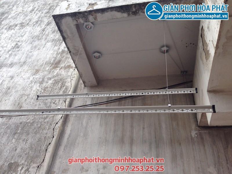 Lắp giàn phơi thông minh cho nhà anh Thắng 155 Trường Chinh, Hà Nội