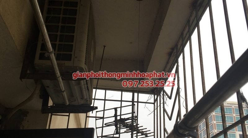 Sửa giàn phơi thông minh cho nhà chị Hương P803 CT4-5 khu đô thị Yên Hoà, Cầu Giấy