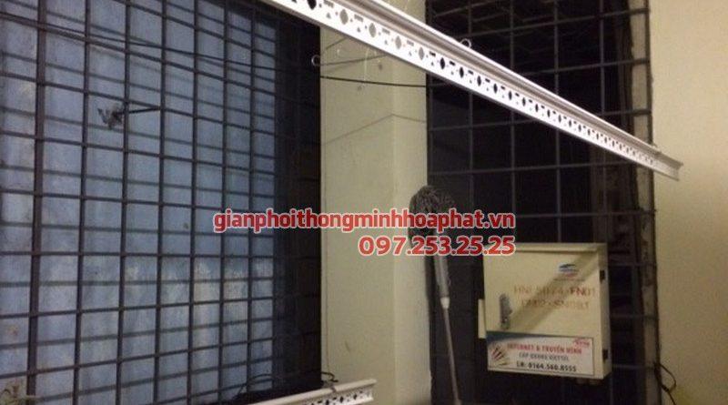 Lắp giàn phơi thông minh cho nhà chị Loan 337 Nguyễn Khang, Cầu Giấy