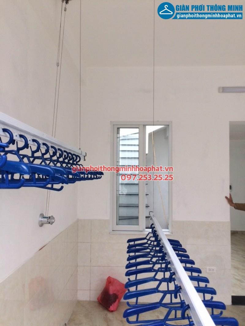 Lắp giàn phơi thông minh cho nhà chị Yến khu đô thị An Hưng, Hà Đông, Hà Nội