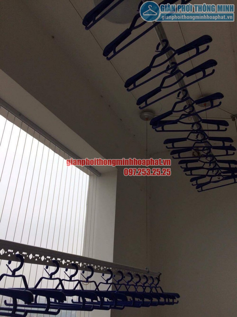 Chiêm ngưỡng bộ giàn phơi nhà chú Thái chung cư Ngoại Giao Đoàn, Xuân Tảo, Từ Liêm-04