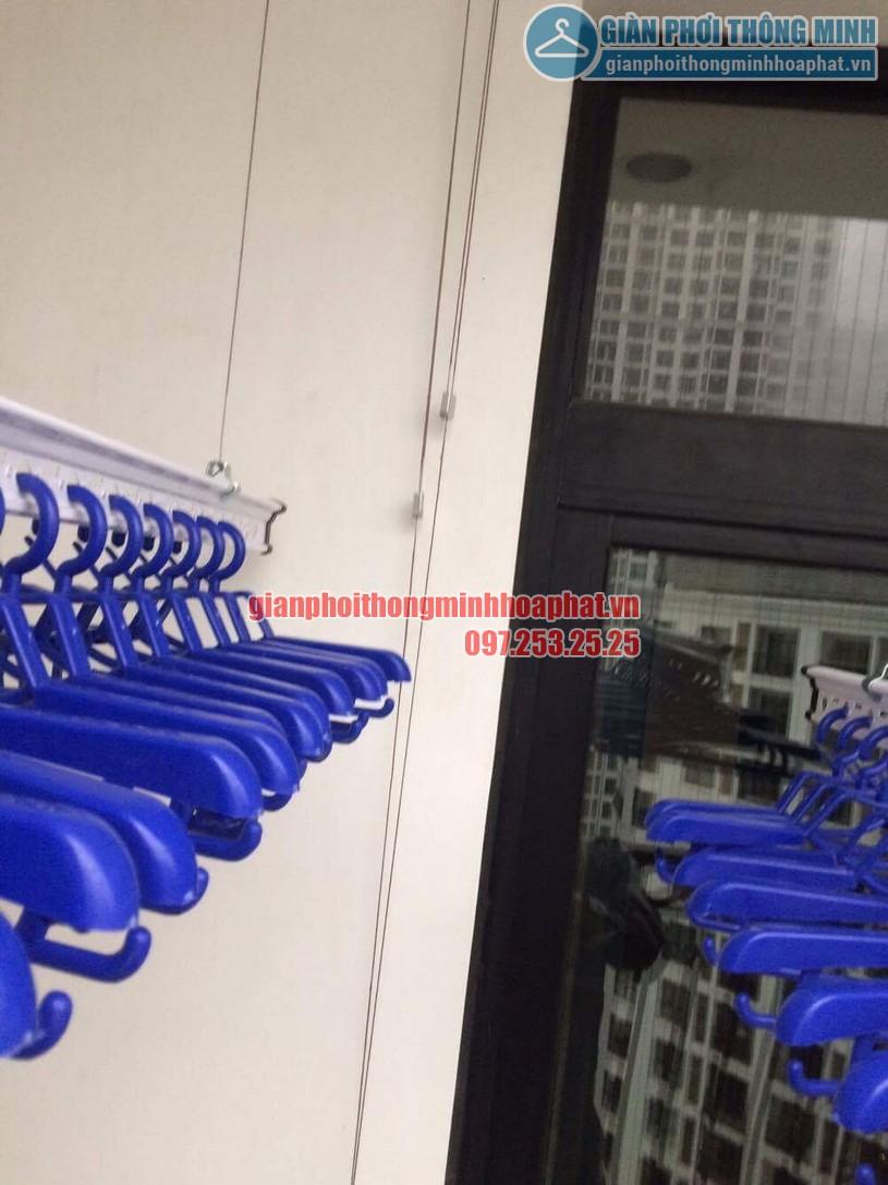 Bộ giàn phơi HP950 gồm 2 thanh phơi có sức chứa lên tới 60kg -02