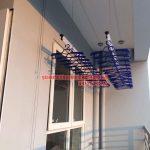 Hình ảnh lắp đặt giàn phơi thông minh nhà anh Hoàng A14A1 Nguyễn Chánh, quận Cầu Giấy