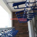 Lắp đặt giàn phơi quận 2 Tp HCM – Nhà chị Hà Tháp A2 Tropic Thảo Điền