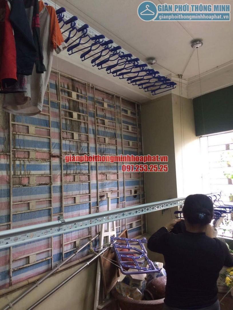 Hoàn thiện lắp đặt giàn phơi thông minh nhà chị Nhung Yên Hòa, Cầu Giấy-05