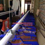Hoàn thiện lắp đặt giàn phơi thông minh nhà chị Nhung Yên Hòa, Cầu Giấy