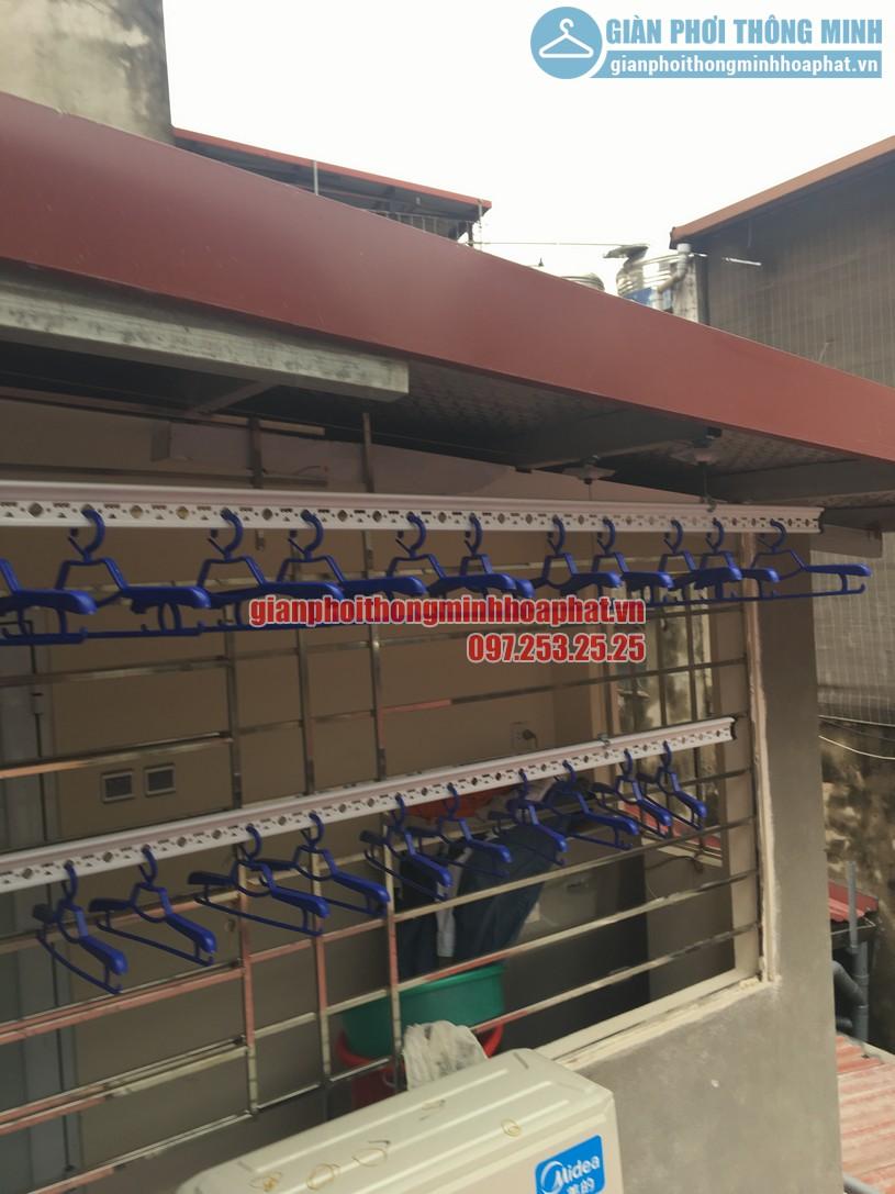 Lắp đặt giàn phơi bên ngoài trần mái tôn nhà anh Tuấn Anh số 35 Hàng Đường, Hoàn Kiếm, Hà Nội-01