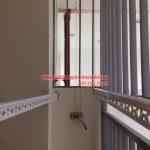 Lắp đặt giàn phơi căn hộ chị Thùy chung cư Mipec Riverside, quận Long Biên, Hà Nội