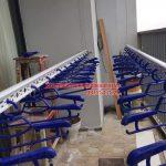 Lắp đặt giàn phơi nhà anh Tuấn P2102,  Tháp B, tòa Newskyline, đô thị Văn Quán