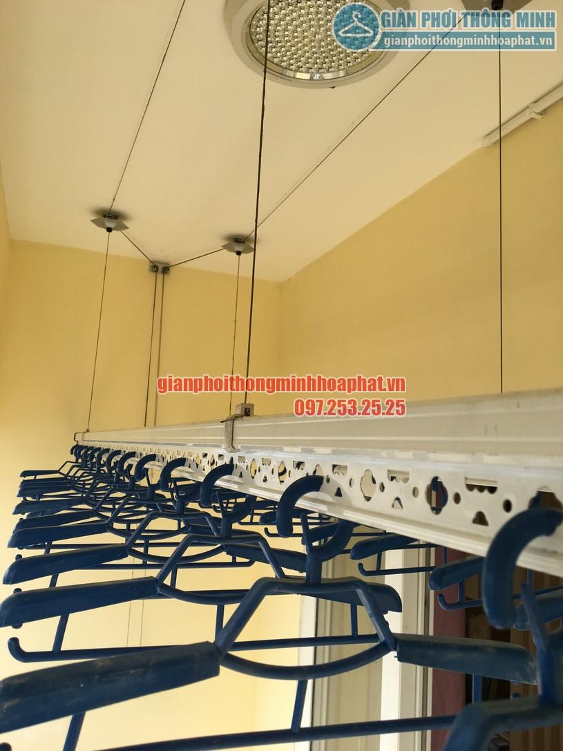 Lắp đặt giàn phơi quần áo thông minh nhà chú Thuận CT18- KĐT Việt Hưng, Long Biên, Hà Nội-02