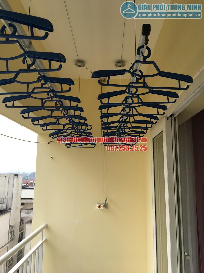 Lắp đặt giàn phơi quần áo thông minh nhà chú Thuận CT18- KĐT Việt Hưng, Long Biên, Hà Nội-05