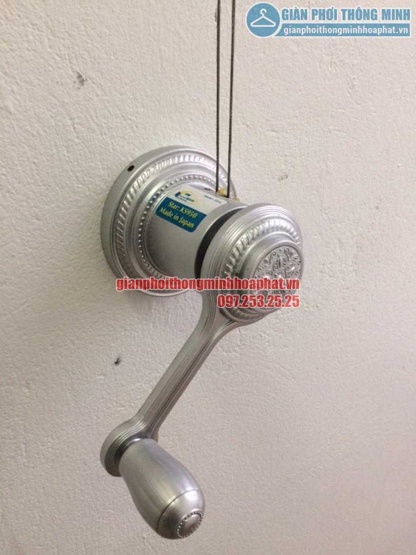 Củ quay - bộ tời giàn phơi HP950 là bộ phận đầu não giúp bạn vận hành giàn phơi-02