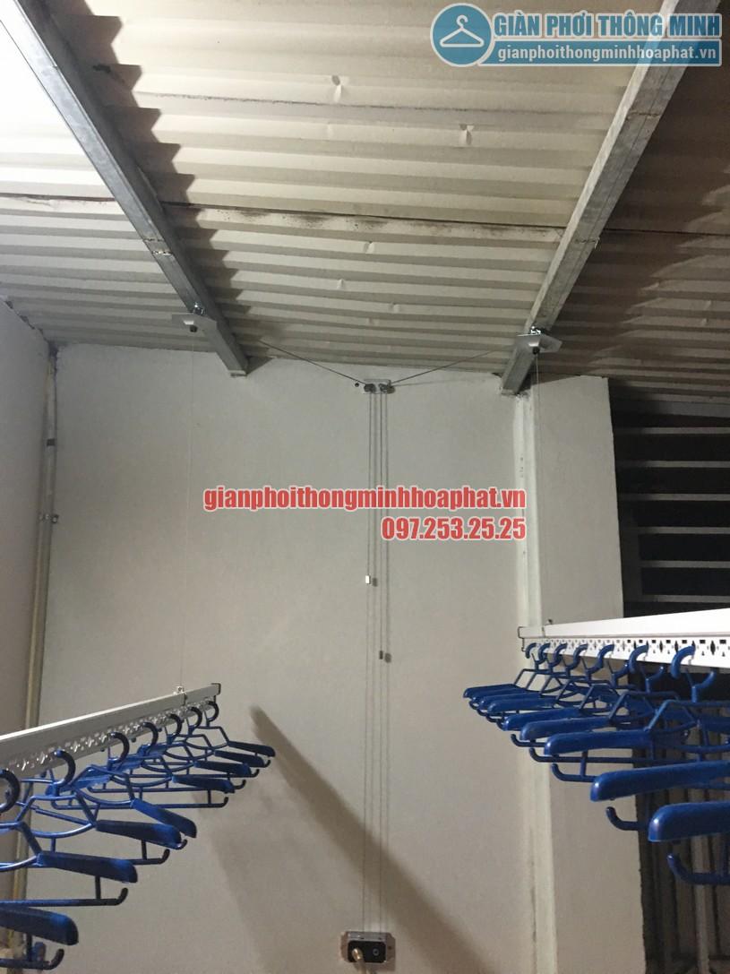 Lắp đặt giàn phơi thông minh cho nhà anh Quỳnh số 63 ngõ 62 Ngọc Hà, Ba Đình, Hà Nội-04