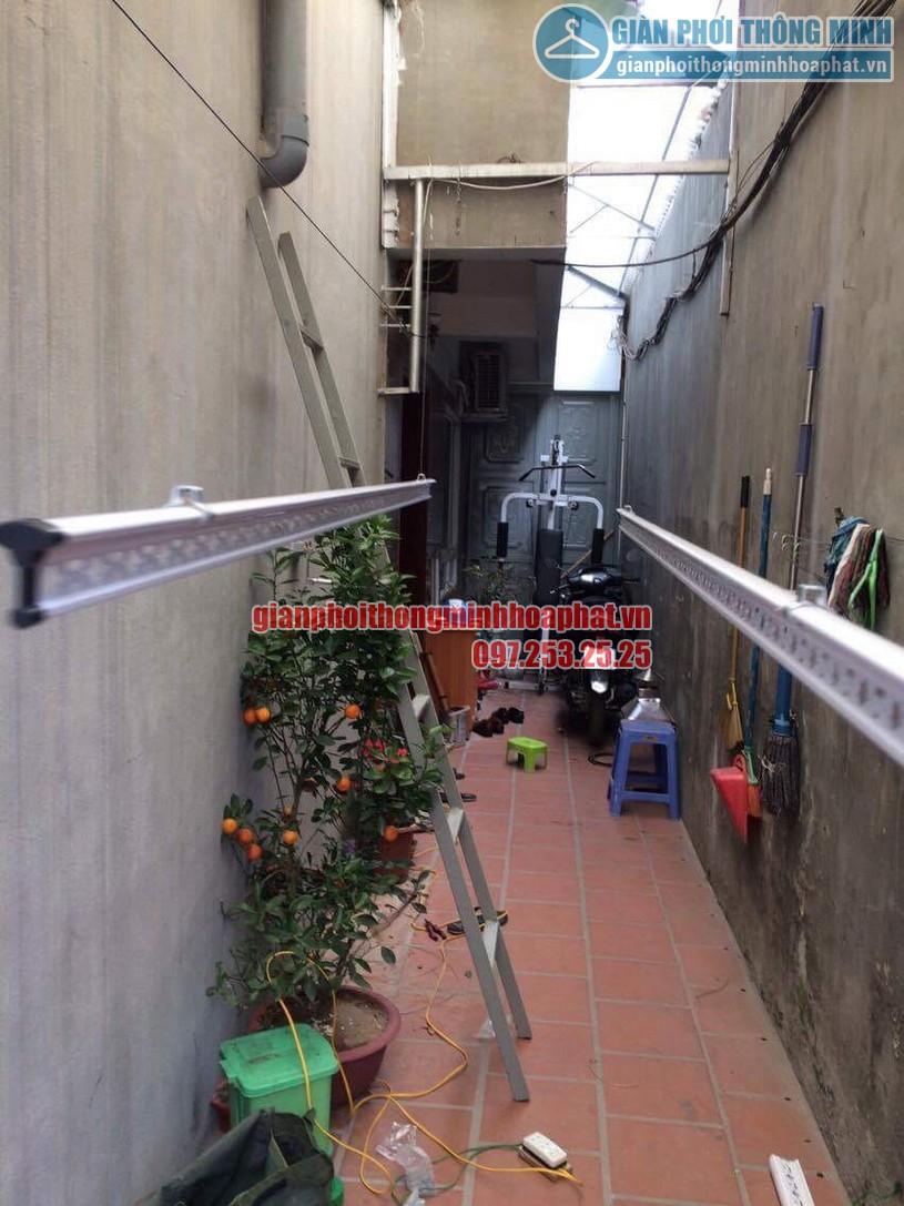 Lắp đặt giàn phơi thông minh HP999B nhà anh KhanhThanh Lân, Thanh Trì, Hoàng Mai, Hà Nội-02
