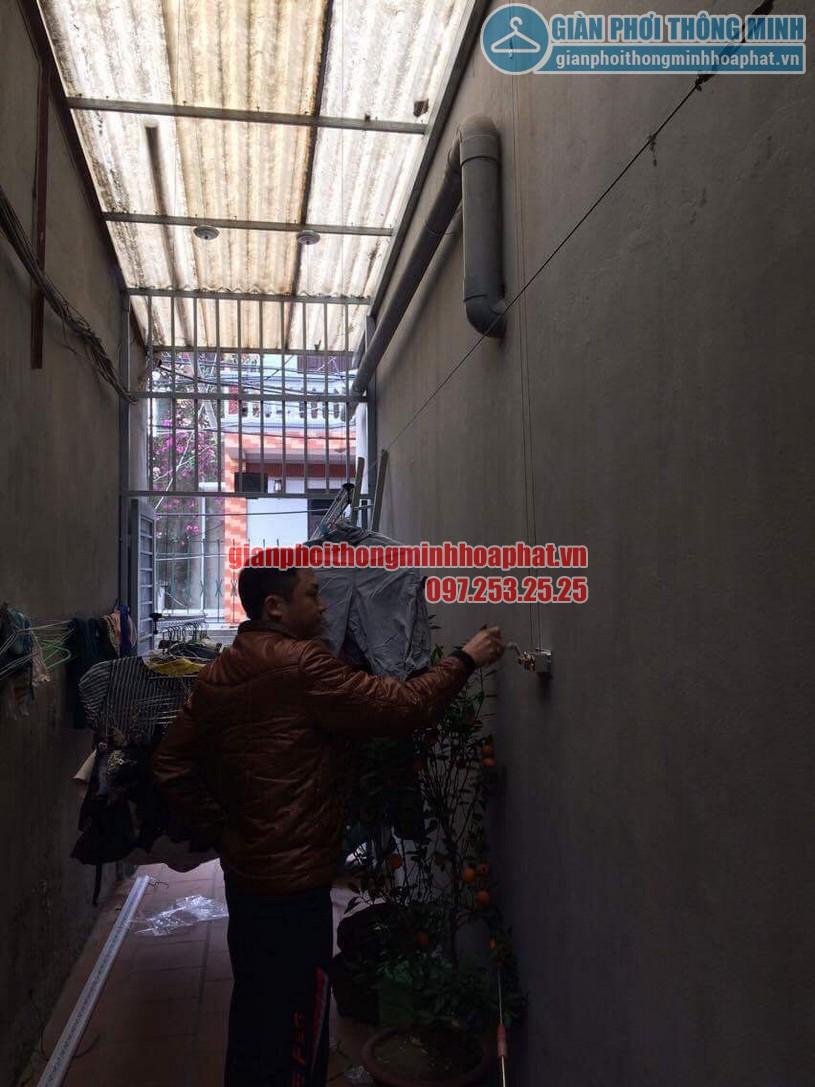 Lắp đặt giàn phơi thông minh HP999B nhà anh KhanhThanh Lân, Thanh Trì, Hoàng Mai, Hà Nội-04