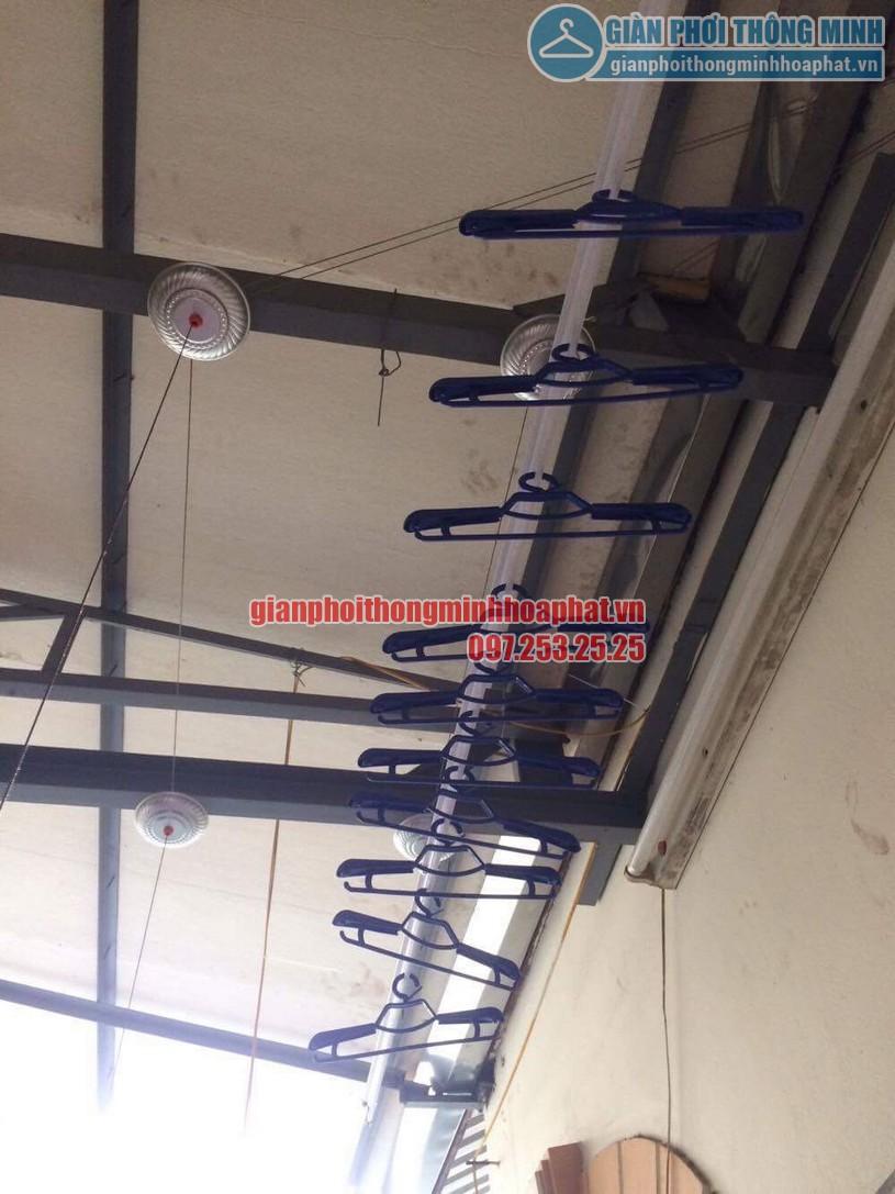 Lắp đặt giàn phơi thông minh nhà anh Doanh ngõ 65 phố Vạn Bảo, Ba Đình, Hà Nội-03