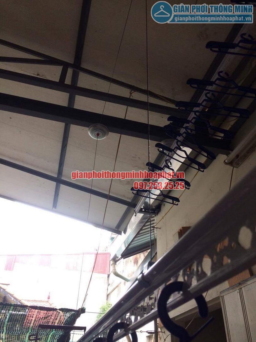 Lắp đặt giàn phơi thông minh nhà anh Doanh ngõ 65 phố Vạn Bảo, Ba Đình, Hà Nội-04