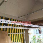 Lắp đặt giàn phơi thông minh nhà anh Hùng nhà số 37 ngõ 61 phố Phạm Tuấn Tài, Bắc Từ Liêm