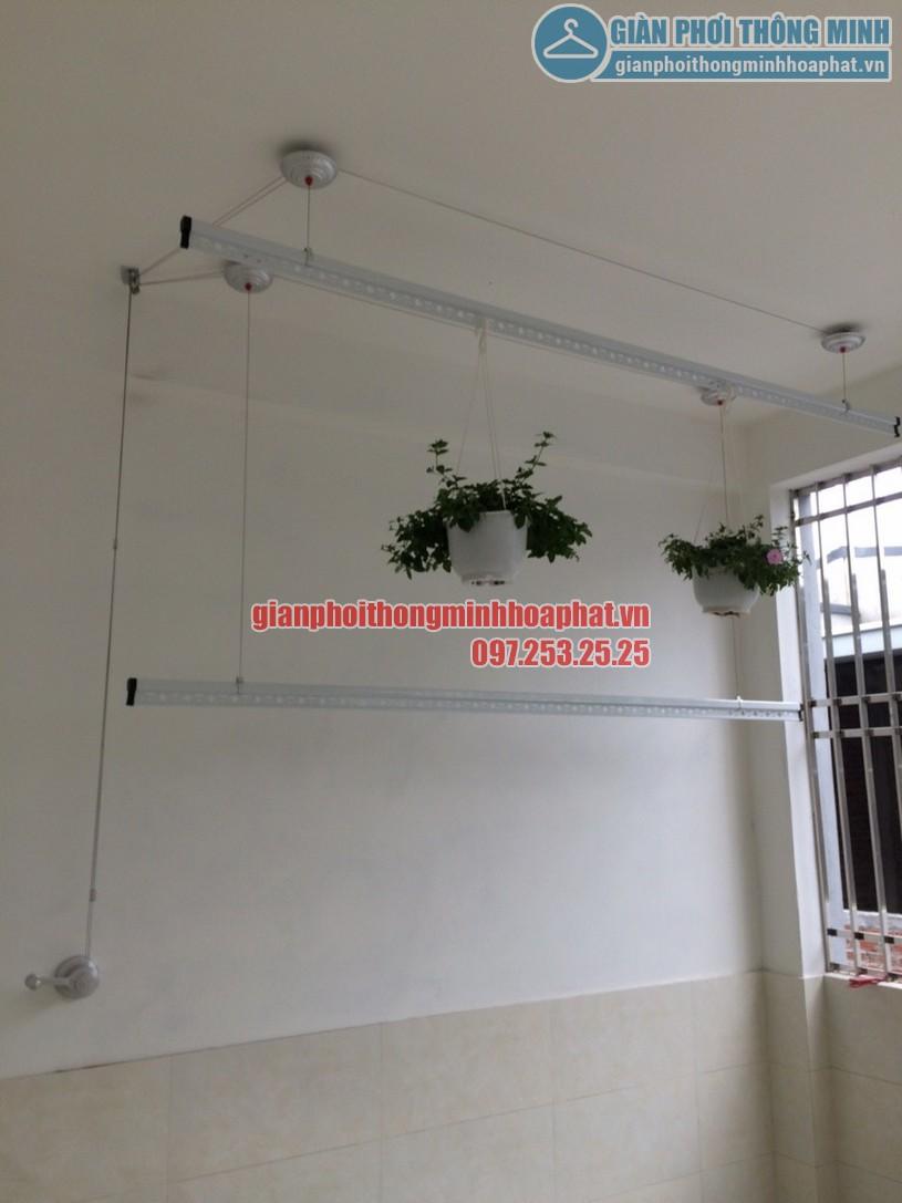 Lắp đặt giàn phơi thông minh nhà anh Thắng chung cư The Pride, Hà Đông, Hà Nội-05