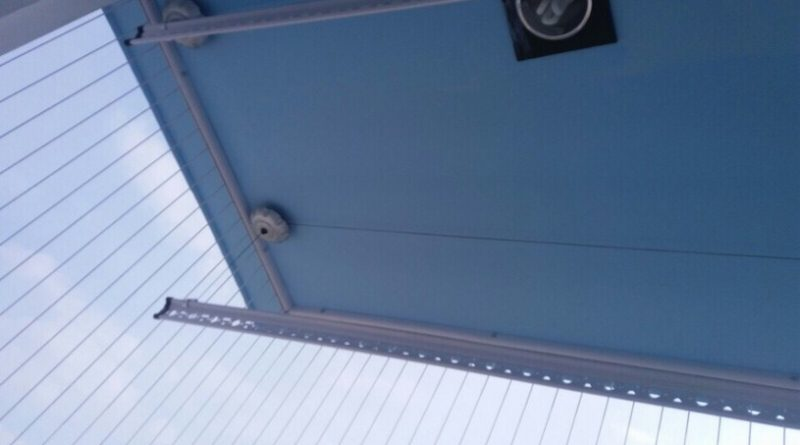 Lắp đặt giàn phơi thông minh và lưới an toàn ban công nhà anh Dũng Tân Tạo A, Bình Tân