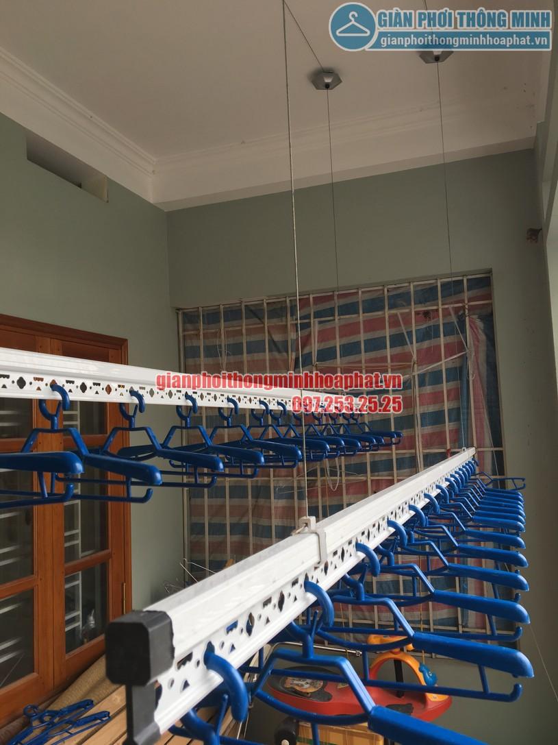Thanh phơi được sản xuất từ inox cao cấp, bên ngoài được mạ lớp sơn tĩnh điện màu trắng-03
