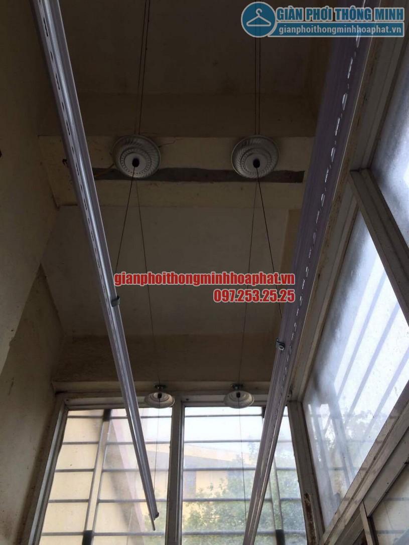 Lắp giàn phơi P213 N7 khu 212 Học viện kỹ thuật quân sự , Tân Xuân, Xuân Đỉnh-02