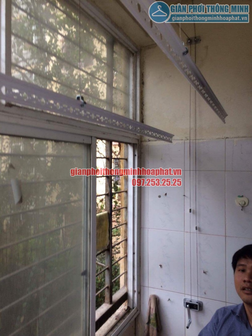 Lắp giàn phơi P213 N7 khu 212 Học viện kỹ thuật quân sự , Tân Xuân, Xuân Đỉnh-04