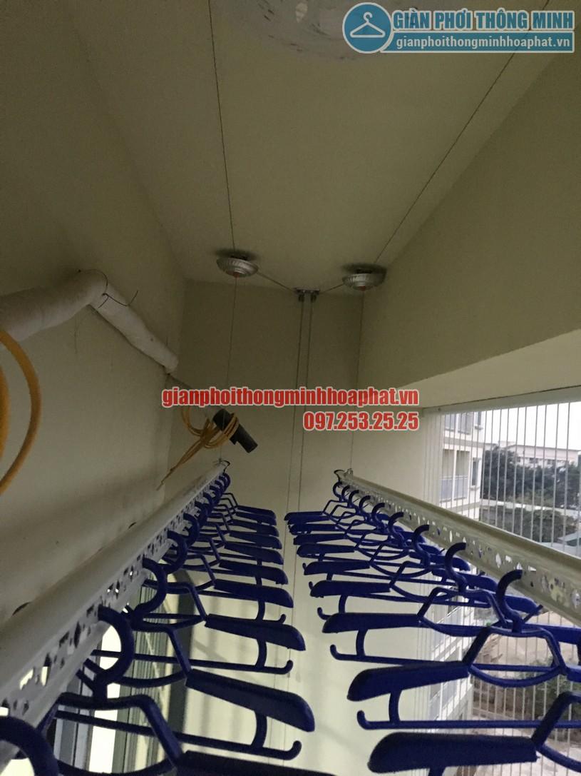 Báo giá lắp đặt lưới an toàn ban công chung cư tại giàn phơi thông minh Hòa Phát là 180.000 đ /m2 -03