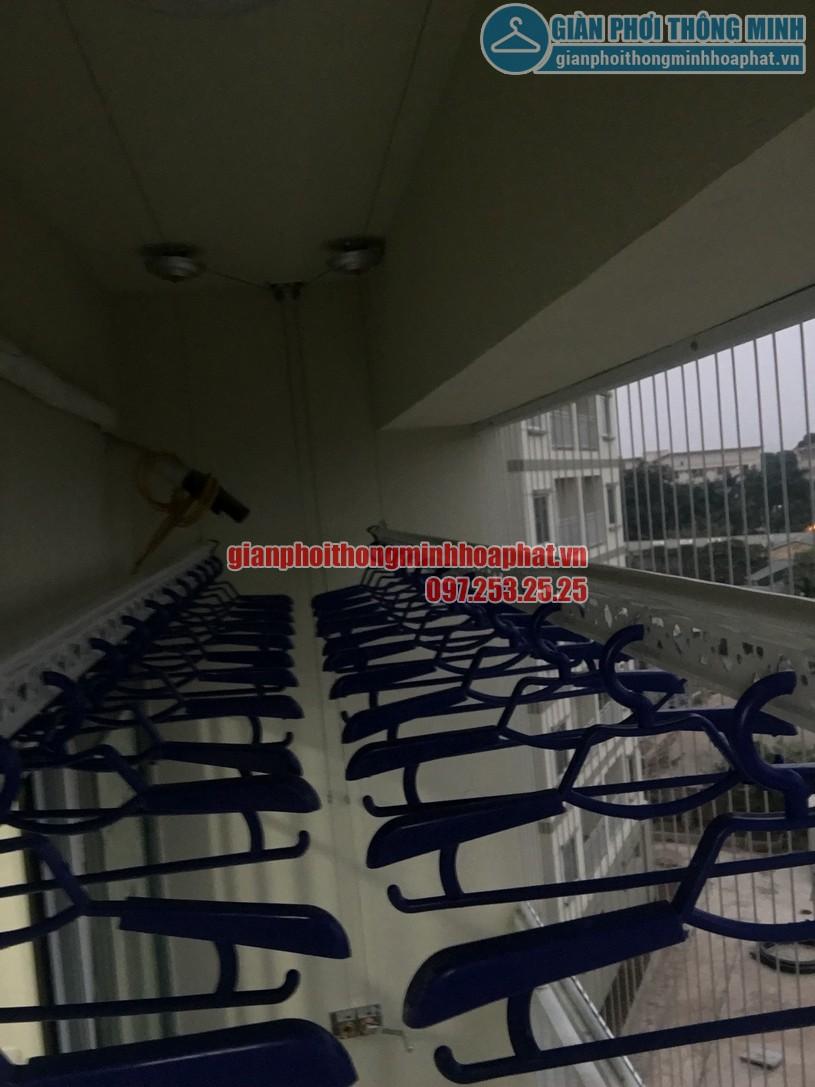 Báo giá lắp đặt lưới an toàn ban công chung cư tại giàn phơi thông minh Hòa Phát là 180.000 đ /m2 -01
