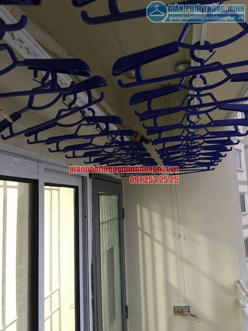 Báo giá lắp đặt lưới an toàn ban công chung cư tại giàn phơi thông minh Hòa Phát là 180.000 đ /m2 -02