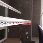 Lắp giàn phơi và lưới an toàn ban công nhà chú Tuyến quận Ba Đình, Hà Nội