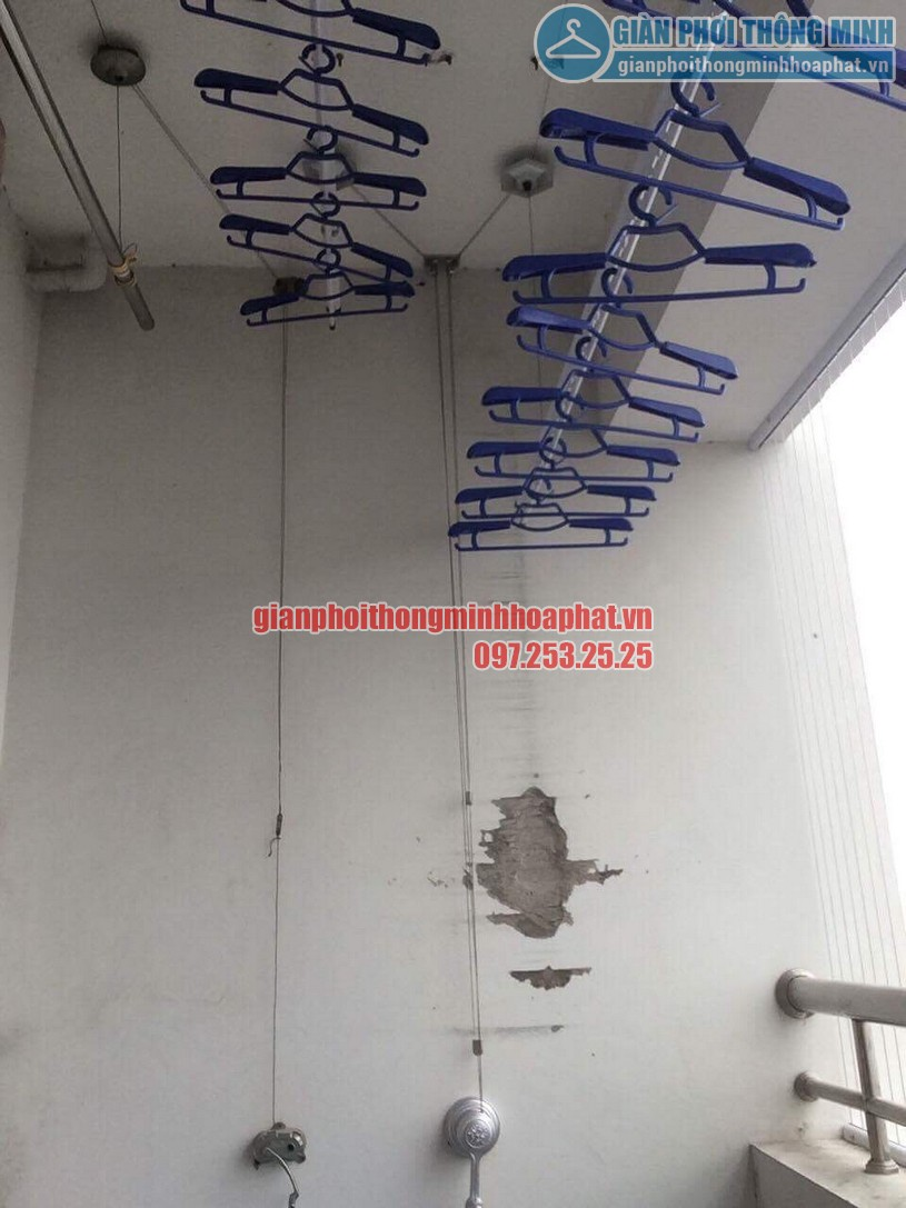 Tặng kèm 30 móc phơi chống bay cao cấp khi lắp đặt bộ giàn phơi HP950-05